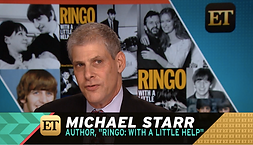 Ringo, Starr, Ringo Starr, Michael Starr, Michael Seth Starr, NY POST, Author, Beatlers, Drummer, Drums, Rock, Rock and roll, ET, Entertainment Tonight, Biographies, Biographer, drumming, with a little help, help, Barbara Bach, Bach, All Star Band