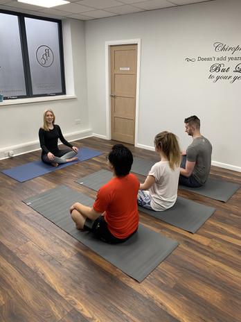 BDC Yoga Class