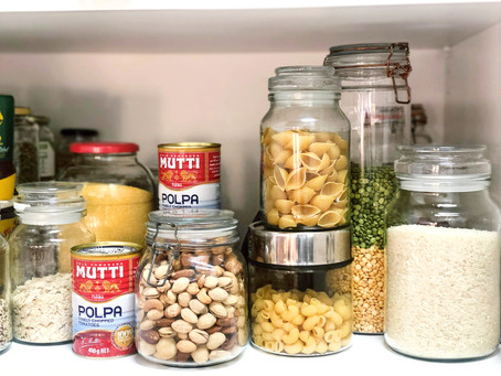 "Your simple 'PANDEMIC"" guide to a delicious pantry"