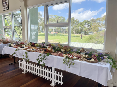The essentials to creating a grazing table