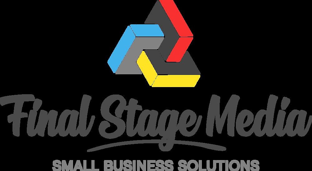 Final Stage Media Logo design