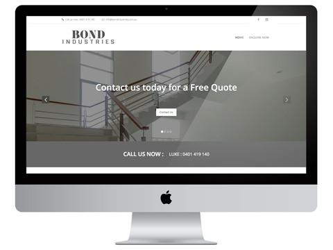 Bond Industries Wordpress Site