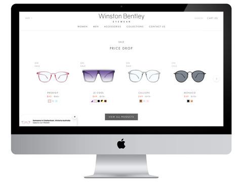 Winston Bentley Shopify Store