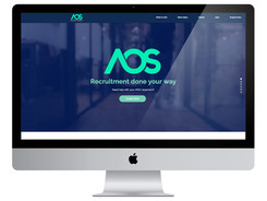 AOS Recruitment Wix Website