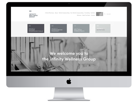 Infinity Wellness Group Squarespace Site