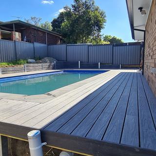 Berard Carpentry Pool Decking