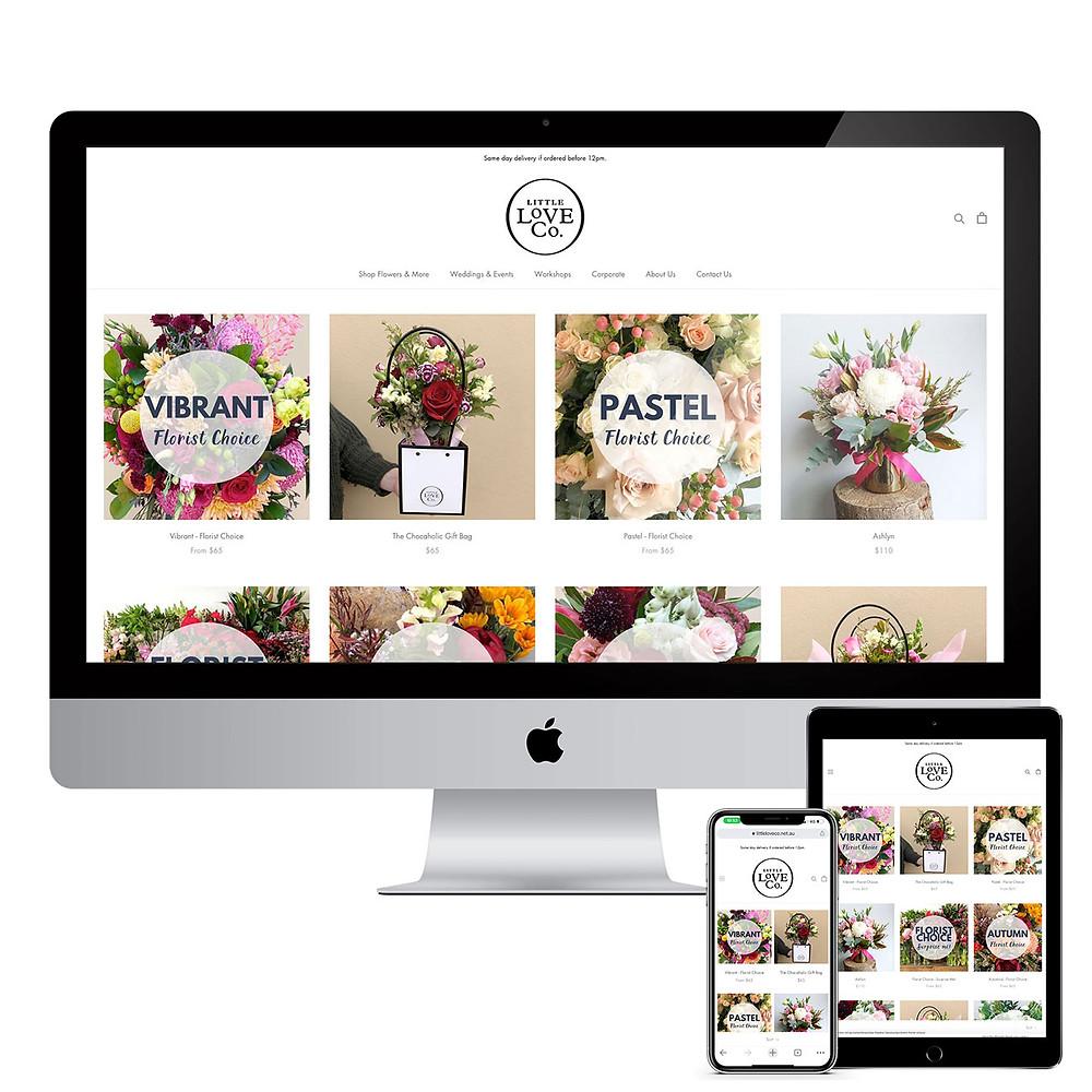 Final Stage Media Website Design - Little Love Co