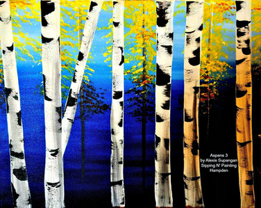 Aspens by Alexis
