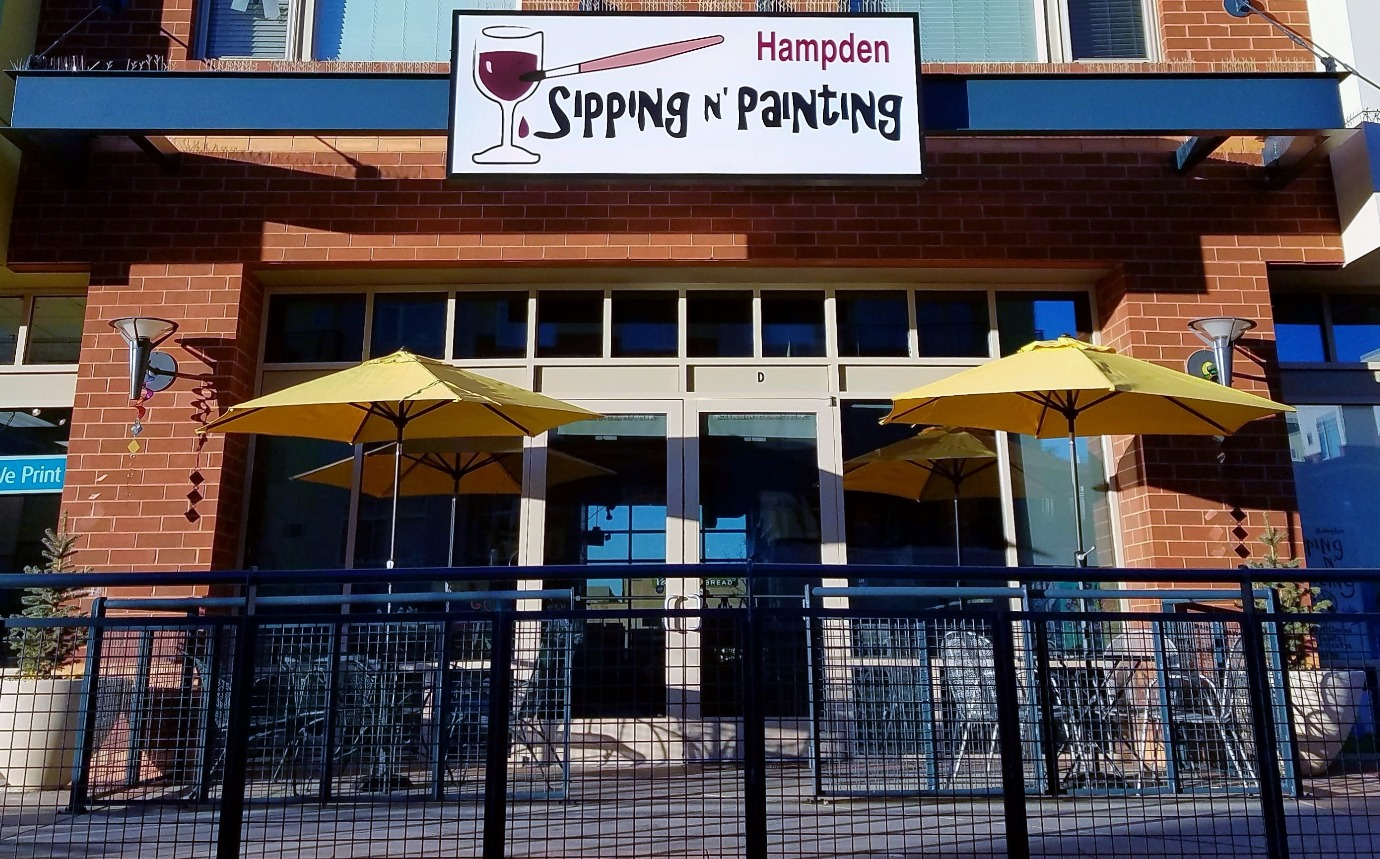 Sipping And Painting Hampden Paint Wine Denver Art Class