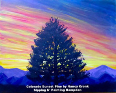 Colorado Sunset Pine