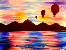 Balloons at Sunset.JPG