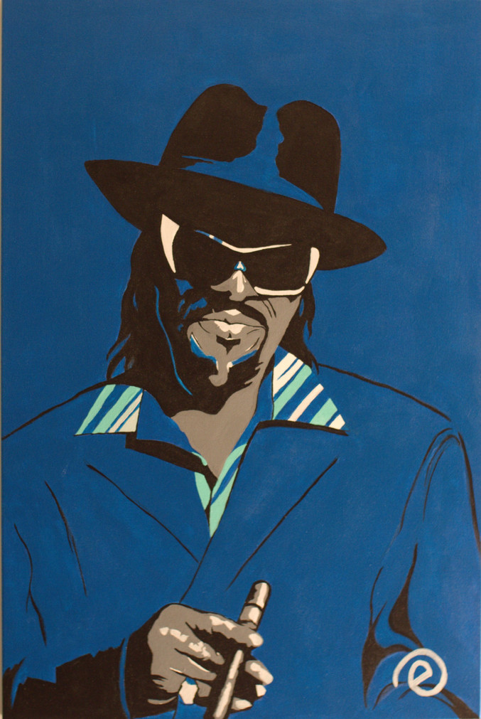 Godfather of GoGo Chuck Brown  SOLD