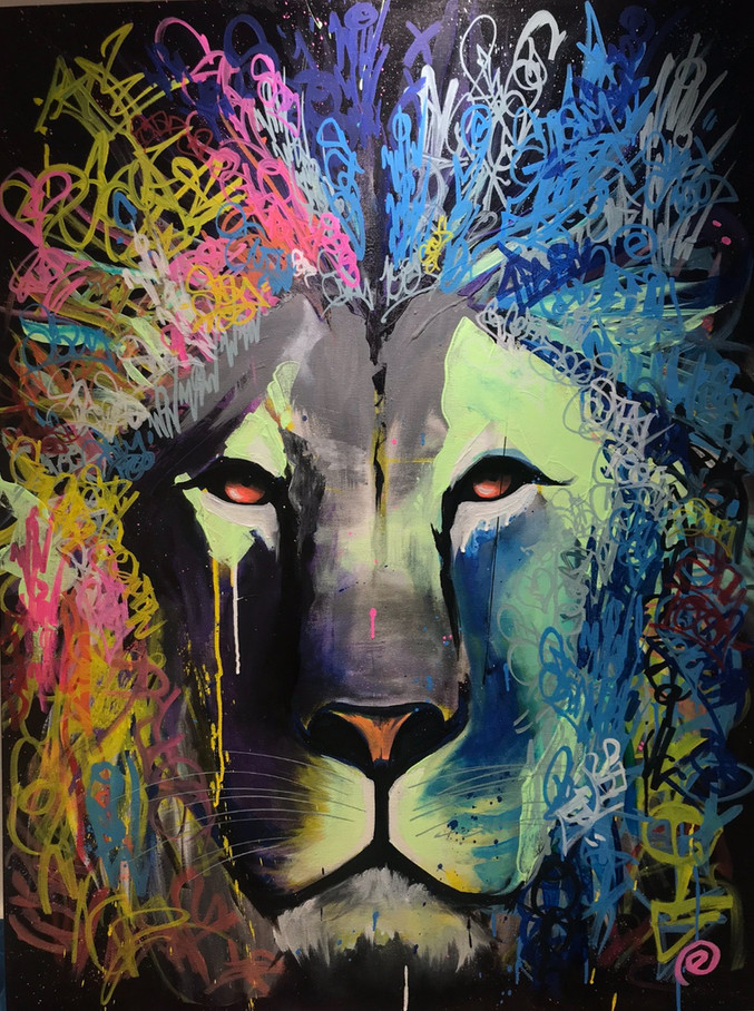 Electric Lion SOLD