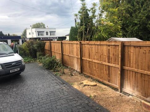 Fence kidderminster