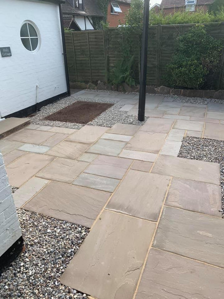 Halesowen landscaping patio