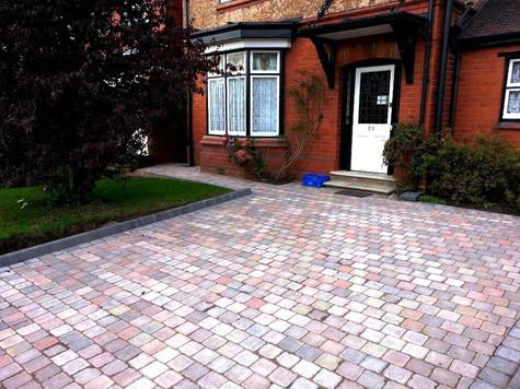Harborne paved driveway