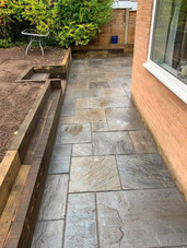 Hagley landscaping patio
