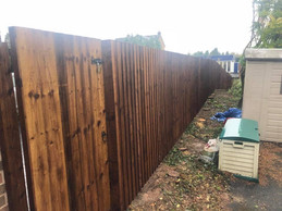 Fence and gate in Stourbridge