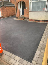 Tarmac and paved driveway in Harborne