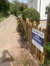 Picket fence harborne