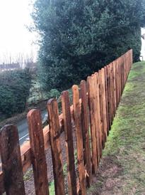 Picket fencing hagley