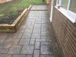 Harborne landscaping patio
