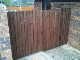 Fence gate in stourbridge