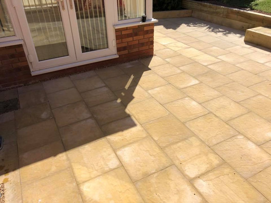 Alvechurch landscaping patio