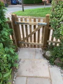 Picket fence gate selly oak