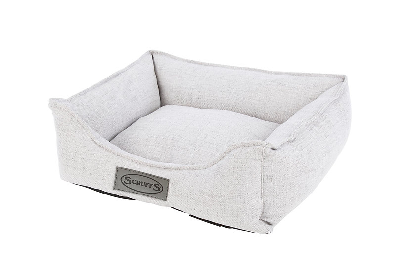 Manhattan Box Bed - Light Grey