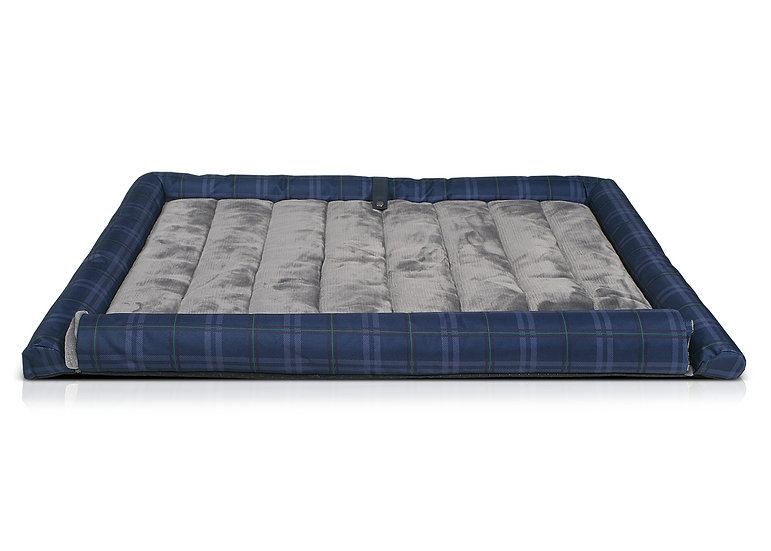 Balmoral Boot/Travel Dog Bed - Blue
