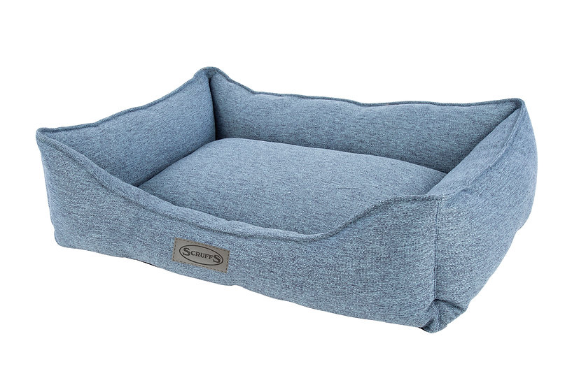 Manhattan Box Bed - Denim Blue