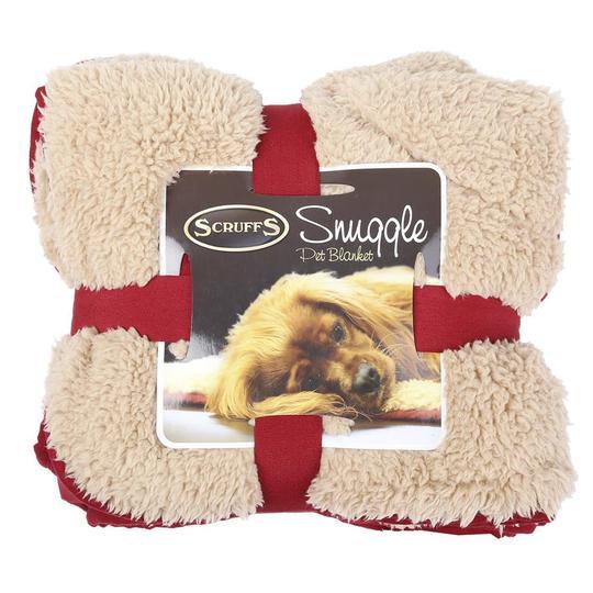 Snuggle Blanket - Burgundy