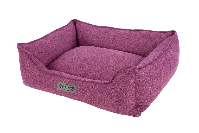 Manhattan Box Bed - Berry Purple