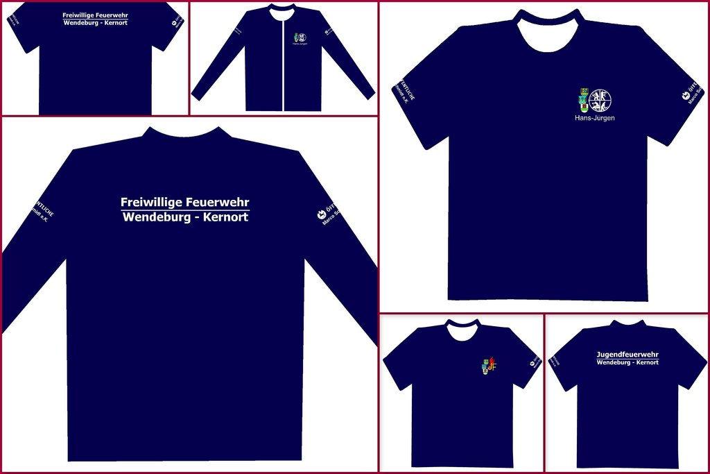 Bekleidung für Einsatzkräfte und Jugendfeuerwehr (August 2012)