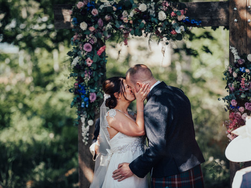 Lorna and Alex - Colstoun House