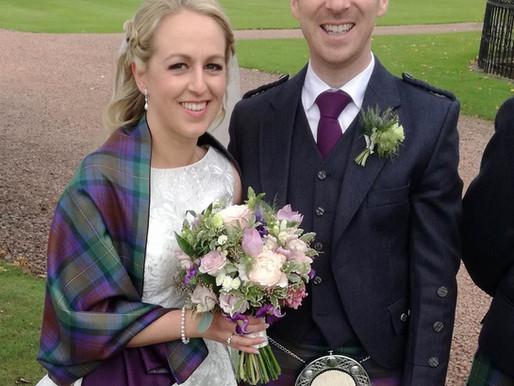 Winton Castle - Lauren and Chris