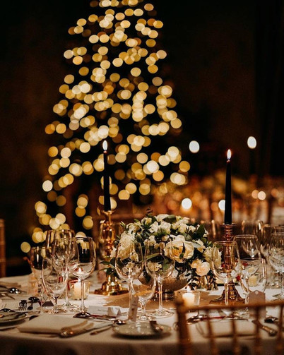 Christmas Wedding at Prestonfield House Hotel