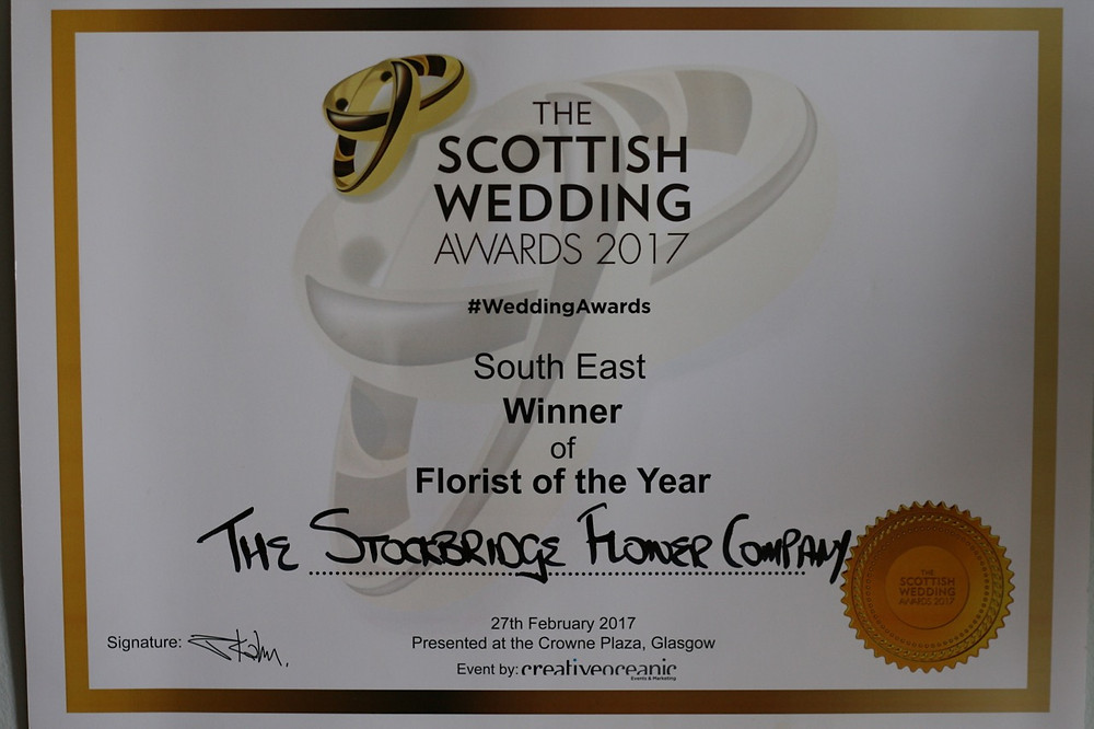 The Scottish Wedding Awards - South East Winner