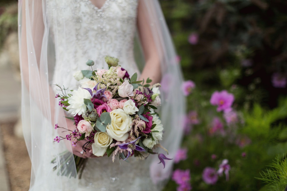 Dundas Castle - summer bouquet