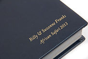 """Click here to see the design pages from their 12""""x12"""" -40 pages Safari Photo Book"""