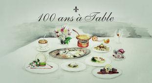 100 ans à table