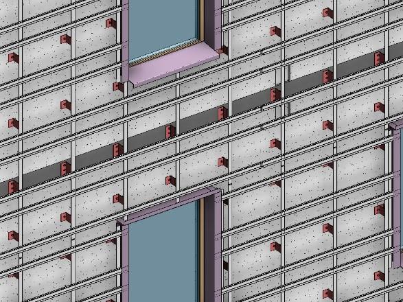 A facade plan
