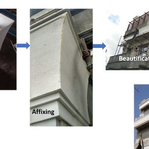 Beautifying buildings with EPS