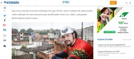 Estadão PME - ANIP 2019