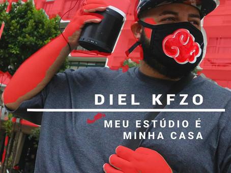 """Diel Kfzo lança música """"Meu estúdio é minha casa"""""""
