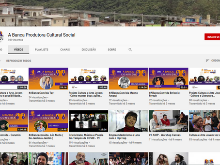 Música, Cultura e Arte também no Youtube