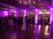 Hyatt Place Greenville, SC 1st dance bride and groom with uplighting
