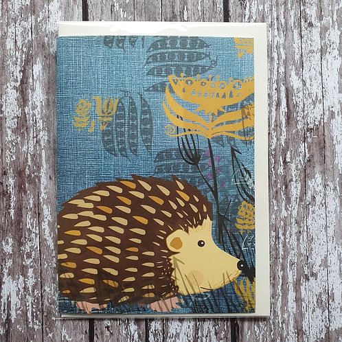 Hedgehog greeting card - Rocket 68