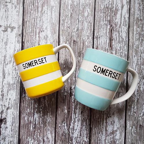 'Somerset' mugs – Cornishware